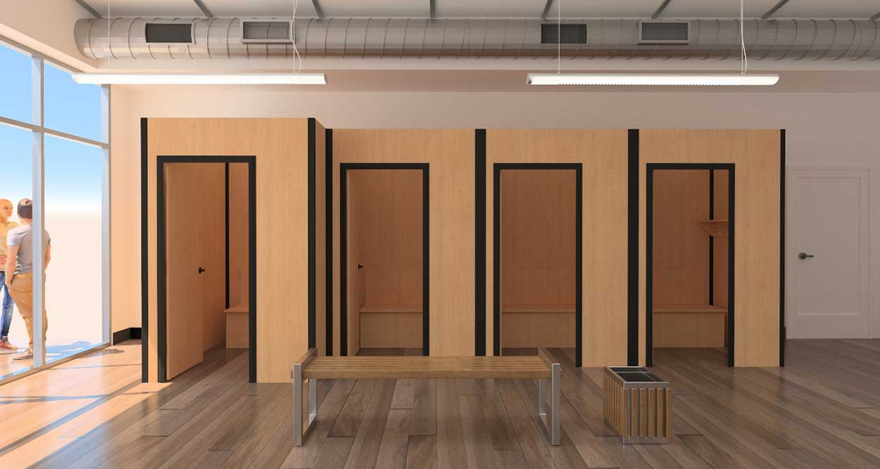 Cornerforms Fitting Rooms Walls Forms