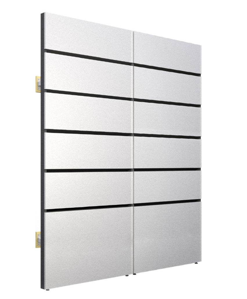 Modular Wall Display and Wire Management System