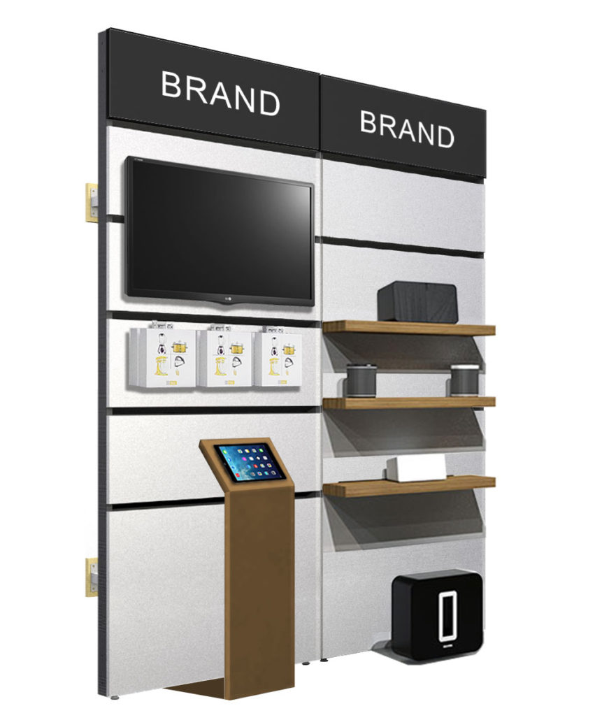 Retail Display Fixtures Walls Forms Inc