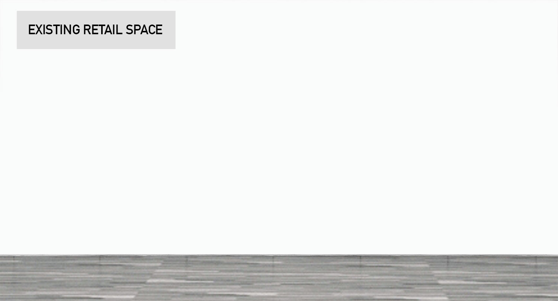 Retail Store Wall Modular Product Displays