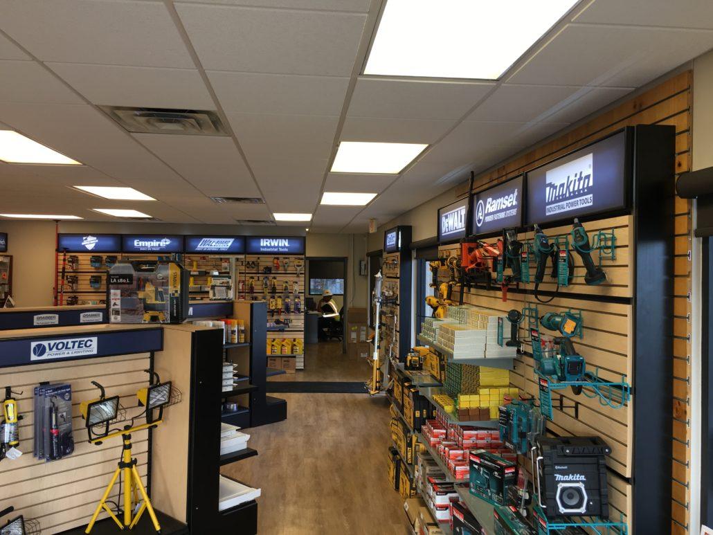 T2 Retail Modular Display System Walls Forms Inc